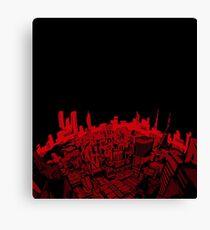 Persona 5 Cityscape Canvas Print