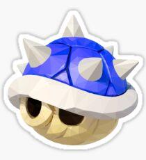 Spiny Shell (Blue Shell) Mario Kart Sticker