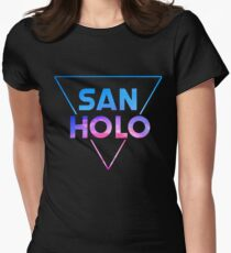 San Holo Women's Fitted T-Shirt