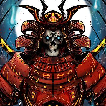Skull Samurai by Kuauh
