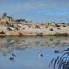 Lake Mungo - an unreal landscape by David Fraser