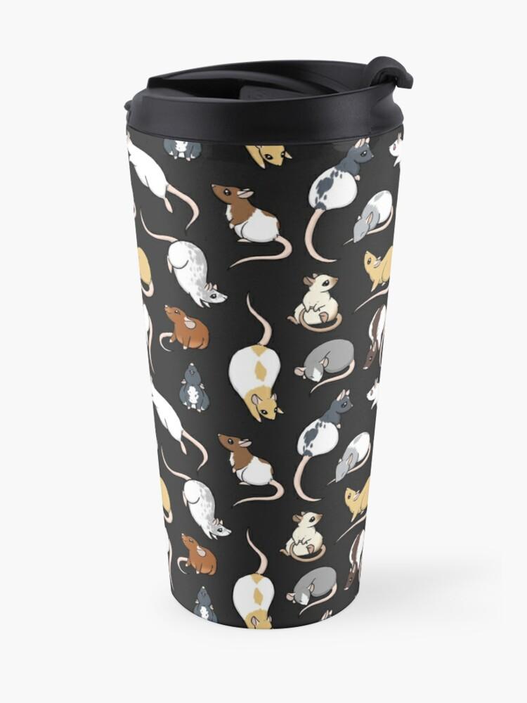 Alternate view of Rats Travel Mug