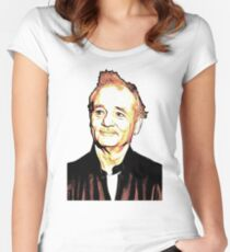 BILL MURRAY Women's Fitted Scoop T-Shirt