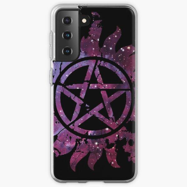 Supernatural Anti-Possession Galaxy Print Samsung Galaxy Soft Case