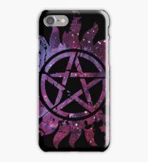 Supernatural Anti-Possession Galaxy Print iPhone Case/Skin
