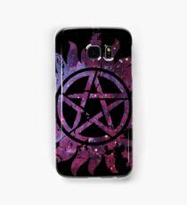 Supernatural Anti-Possession Galaxy Print Samsung Galaxy Case/Skin
