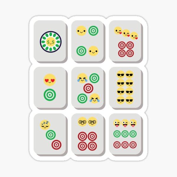 Mahjong Emoji   Sticker