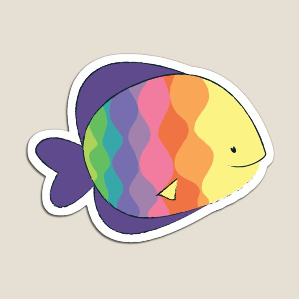 Rainbow fishes Magnet