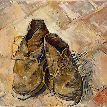Vincent van Gogh: A Pair of Shoes [1888] by Qrio
