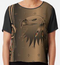 Eagle Nation Chiffon Top