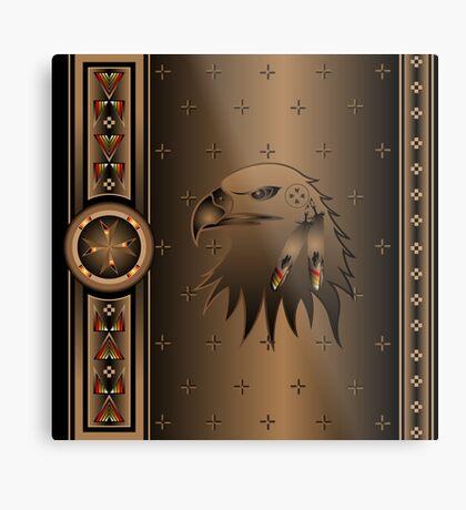 Eagle Nation Metal Print