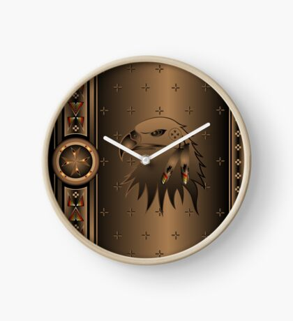 Eagle Nation Clock