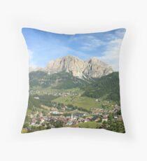 Cojín Corvara, panorama de los Dolomitas italianos