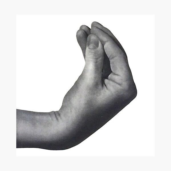 Italian hand Photographic Print