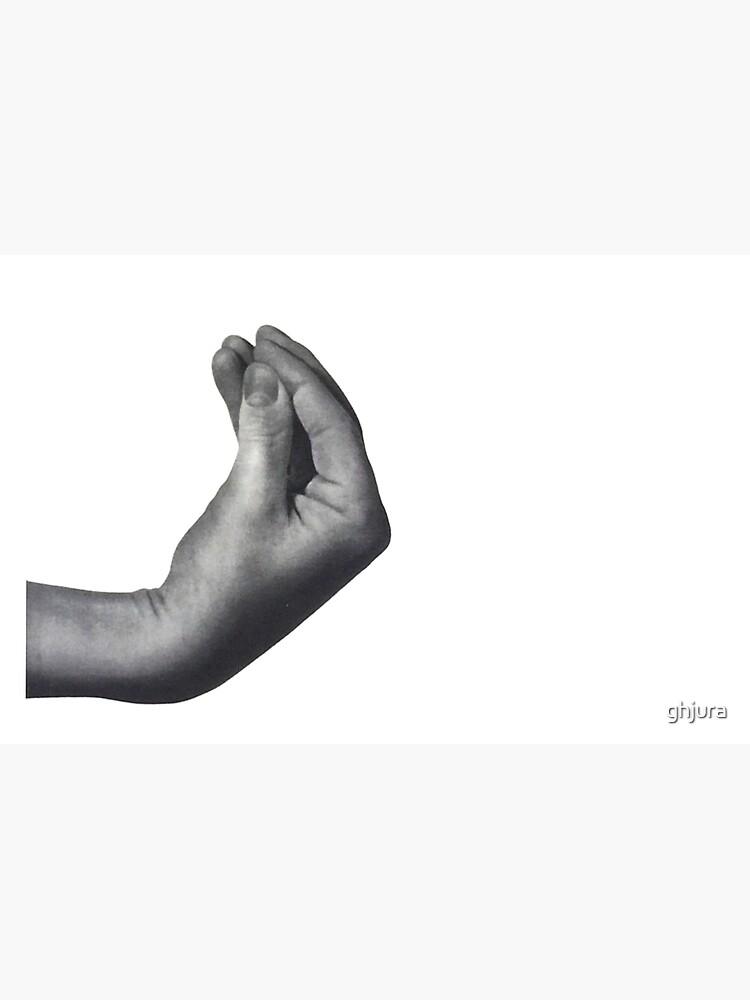 Italienische Hand von ghjura