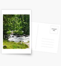 Rushing River #3 Postkarten