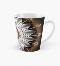 Native Feather Design Tall Mug