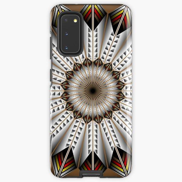 Native Feather Design Samsung Galaxy Tough Case