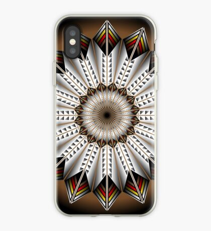 Native Feather Design iPhone Case