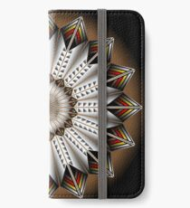 Native Feather Design iPhone Wallet/Case/Skin