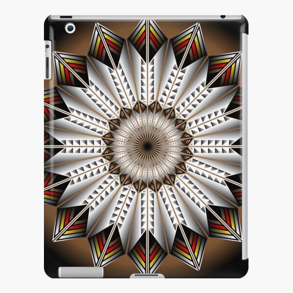Native Feather Design iPad Snap Case