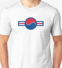 Roundel of South Korea Air Force, 1950s-2000 Unisex T-Shirt