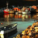 Sunrise at Petty Harbour by Brian Carey