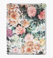 Vinilo o funda para iPad Rosa verde acuarela vintage rosas amarillas florales