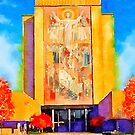 Notre Dame University - Touchdown Jesus by Mike Prout