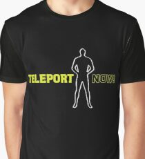 Blake's 7: Teleport Now! Graphic T-Shirt