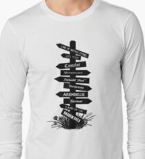 The Lands Of Once Upon A Time Long Sleeve T-Shirt