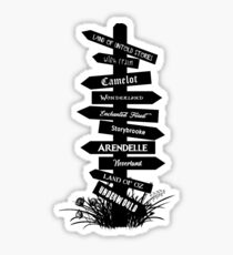The Lands Of Once Upon A Time Sticker