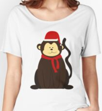 ChristmasMonkey! Women's Relaxed Fit T-Shirt