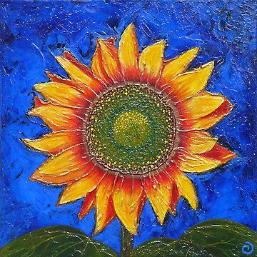 Sunny Sunflower by JakkiOakes