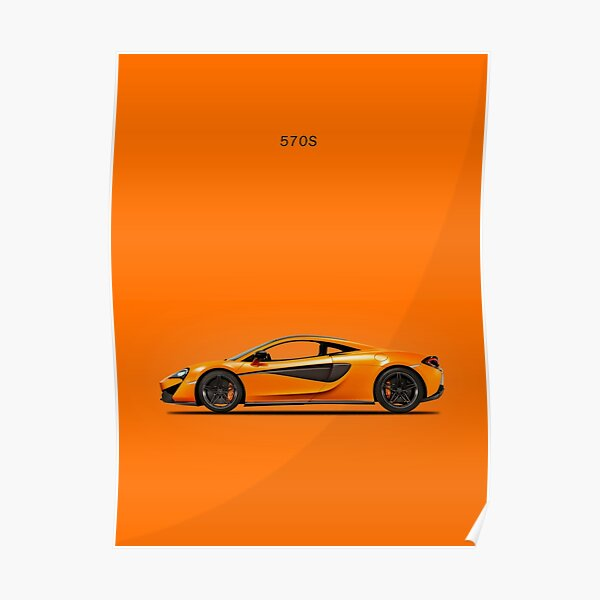 The 570S Supercar Poster