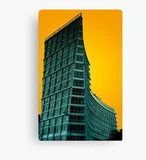 Tower block Canvas Print