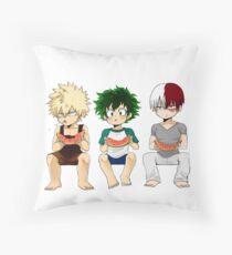 My Hero Academia Throw Pillow