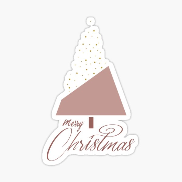 Plum Xmas #redbubble #plum #xmas Sticker