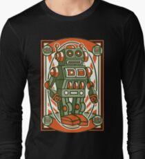 Vintage Toy Robot Cartoon Character T-Shirt
