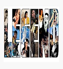 LEGEND Michael Jackson ver.2 Photographic Print
