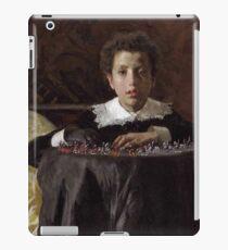 Antonio Mancini, Italian, 1852-1930 -- Young Boy with Toy Soldiers iPad Case/Skin