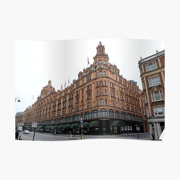 HARRODS FAMOUS BUILDING FACADE PEN GREAT AS A GIFT NEW