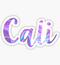 Cali Sticker