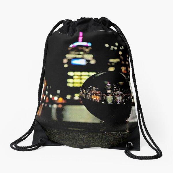City Reflected  Drawstring Bag