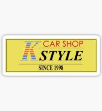 CAR SHOP K-STYLE Sticker