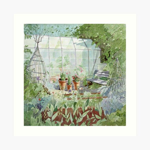 Garden Retreat Art Print
