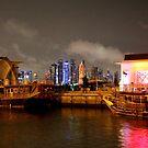 Doha - Night Lights by Camilla