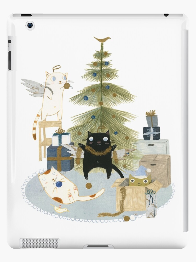 Decorating the Christmas Tree by Judith Loske