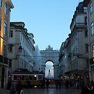 Lisbon - Dusk by Camilla
