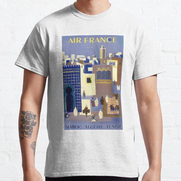 Affiche de voyage Vintage Maroc Algerie T-shirt classique